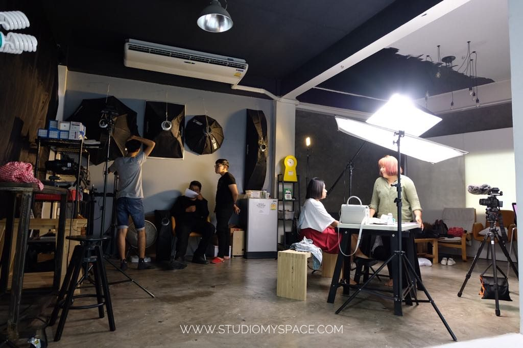 สตูดิโอถ่ายภาพให้เช่า หาดใหญ่ Studio เช่าสตูดิโอ สตูดิโอให้เช่า STUDIO MYSPACE